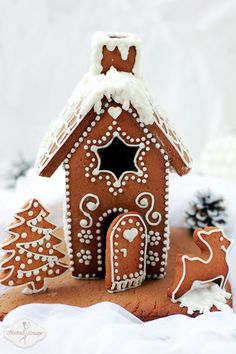 domek z piernika / gingerbread house  recipe