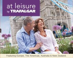 At Leisure by Trafalgar If you prefer a leisurely pace then our At Leisure trips are perfect for you. You'll have plenty of time to take in your surroundings, starting no earlier than 9am on travel days, with two or more nights in each destination.