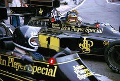 Ronnie Peterson (SWE) & Jacky Ickx (BEL), Lotus 72E Zandvoort, 1974