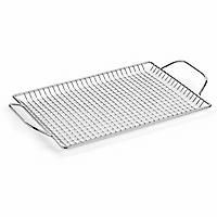 Pampered Chef  Stainless Steel BBQ Grill Tray is perfect for grilling fish, asparagus and shrimp too!