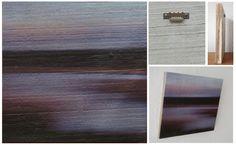 A PALE SHEEN THAT FADED AWAY IN THE NIGHT - Foto op hout, Photo on wood, print, afdruk, acaciahout, FSC keurmerk