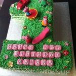 peppa-pig, #novelty cake, #birthday cake, #mad4cakes, #eastcote, #ruislip, #bespoke, #number cake