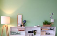 No. Living Room Green, Corner Desk, Home Improvement, Gallery Wall, Lights, Interior, Furniture, Influencer, Home Decor
