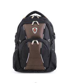 Multi-purpose Unisex swissgear backpack BROWN