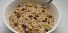 Crock Pot Creamy Old- Fashioned Oatmeal - Super EASY and Good!  www.getcrocked.com