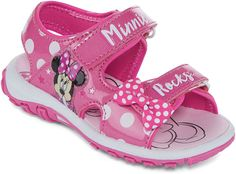 DISNEY Disney Minnie Mouse Girls Strap Sandal - Toddler
