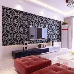 Papel Pintado Moderno Salón Pegatina Romántico Cheerhuzz Com