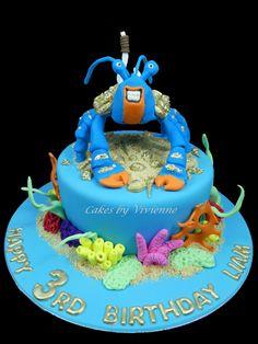 Tamatoa Birthday Cake on Cake Central