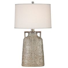"Naxos 34"" H Table Lamp with Drum Shade"