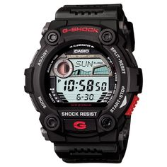 The Casio wristwatch that Jake Gyllenhaal (Brian Taylor) wears in the movie End of Watch (2012).