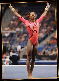 Gabby Douglas love her leo Gymnastics Flexibility, Gymnastics Workout, Fierce 5, Anna Rose, Cool Swimming Pools, African American Culture, Gabby Douglas, Gymnasts, Sporty Girls