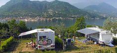 Campingplatz Weekend, Gardasee, Italien
