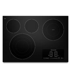 KitchenAid® 30-Inch 4-Element Electric Cooktop, Architect® Series II (KECC607BBL Black) |