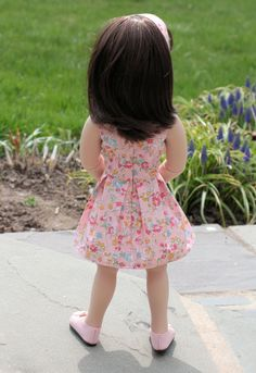 A Girl For All Time Doll® Clothes. Pink Flirty by NoodleClothing