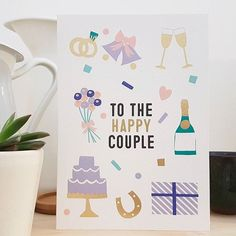 Anyone hearing wedding bells this Valentines?  #wedding #valentines #valentinesday #happy #couple #love #cards #valentinescard #weddingbells #marriage #cactus #greetingscard