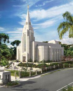 Curitiba Brazil Temple