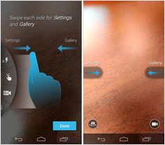 Moto X's camera UI leaks, reveals swipe-driven UI and slow motion mode