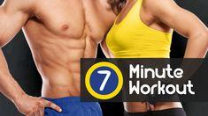 7 Minute Workout: o seu treinamento diário para queimar gordura rapidamente