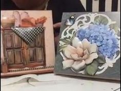 Decoupage Vintage, Diy And Crafts, Projects To Try, Decorative Boxes, Frame, Youtube, Home Decor, French Art, French Tips