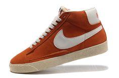 new york 3ff3e 55135 HOMME Nike Blazer high Orange NBH31