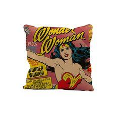 Capa de Almofada Mulher Maravilha Cover Page