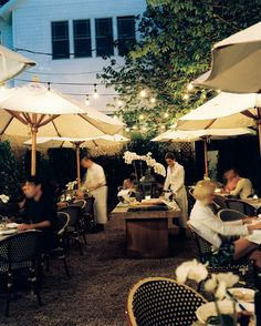 When you head to the Hamptons for a weekend getaway, enjoy the finest outdoor dining like the stylish Tutto Il Giorno.