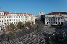 My Story Hotel Rossio by a drone Lisbon, 18th Century, Mansions, Nice, House Styles, Building, Buildings, Fancy Houses, Nice France