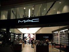 MAC store in Vegas.