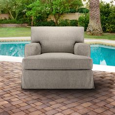 Stuart Outdoor Chaise with Cushions Patios Chaise lounges and