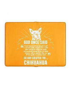 God Once Said Chihuahua Dog T-Shirt - Gold blue merle chihuahua, teacup chihuahua puppies for sale, chihuahua names #chihuahuapoodlemix #chihuahuapets #chihuahuapeanut, dried orange slices, yule decorations, scandinavian christmas So Much Love, Love Him, German Shepherd Chihuahua Mix, Chihuahua Dogs, Teacup Chihuahua, Leather Notebook, Blue Merle, God, Yule
