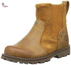 Timberland Ca1a3w M 135, Bottes Chukka Mixte Enfant, Marron (Wheat), 32 EU - Chaussures timberland (*Partner-Link)