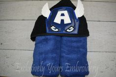 American Hero Children's Hooded Towel - pinned by pin4etsy.com
