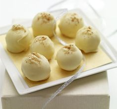Egg Nog Truffles