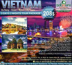 Satguru Indonesia - Travel Management Company, 13 : Hello travelers, satu lagi kesempatan paket liburan untuk anda, menikmati momen keluarga ke Vietnam bersama kami mengunjungi beberapa lokasi wisata menarik dan indah dengan harga terjangkau dan nyaman. Ikuti kesempatan terbatas ini. 👉Hubungi kami dan pesan sekarang juga! *harga sewaktu-waktu bisa berubah. -------------------------- 💳Dapatkan diskon dan promo khusus lainnya di bulan ini. -------------------------- 🏠Hubungi kami atau…