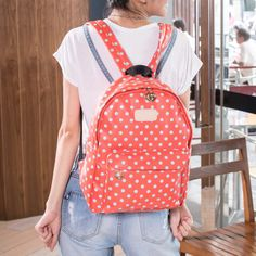 Cute Dot Watermelon Backpack
