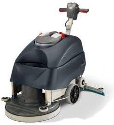 The TT6650G walk behind scrubber drier, part of Numatic's new and updated TwinTec Floor Care range! Now available in a sleek graphite and red colour scheme! Click for more information.