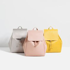 BACKPACK WITH FOLDOVER FLAP-Backpacks-BAGS-WOMAN | ZARA India