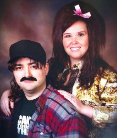 """This awkward family photo looks like it was taken straight from the 80's, much like our family in """"Making God Laugh""""!"""