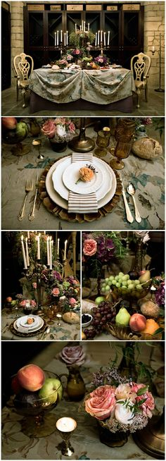 Tablescape ● Tuscany ❤❦♪♫