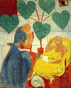 urgetocreate:  Henri Matisse, Two Women, 1939