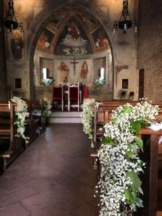 Matrimonio Valeria e Fabrizio, immagine 2 Wedding Flowers, Wedding Day, Church Wedding Decorations, Dusty Blue Weddings, Wedding Planner, Iglesias, Plants, Wedding Decoration, Engagement