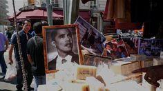 Marché de Belleville (soap + Obama)
