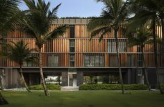 """Kerry Hill remarked in a 2012 WAF interview, that """"Luxury today and I think in the future is not to do with materiality as much as the spatial and environmental qualities of livingR… Residential Architecture, Landscape Architecture, Architecture Design, Tropical Heat, Modern Tropical, Tropical Style, Lombok, Kerry Hill Architects, Famous Architects"""