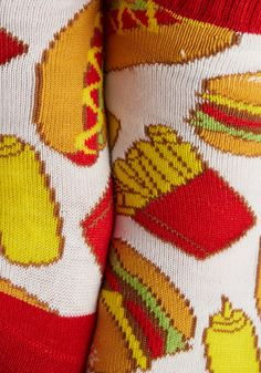 Shop ModCloth for our assortment of the women's tights, printed, opaque and polka dot! Get OFF when you buy 2 pairs of tights at ModCloth! Ketchup, Modcloth, Print Patterns, Tights, Socks, Let It Be, Knitting, Prints, Women