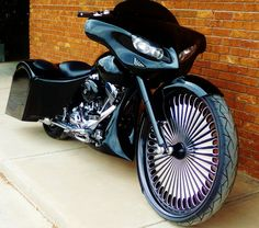 Bagger Bikes | Bagger Bike Designs by Roger Bourget
