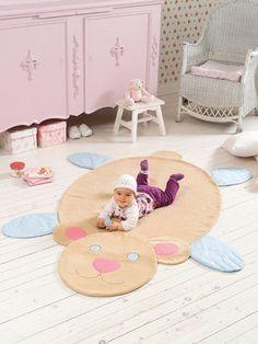 burda style - Krabbeldecke nähen - Wählen Sie zwischen den Babydecken-Schnittmustern Bär, Schaf und Schildkröte