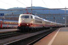 Die DB Lok 103 184-8 in der Schweiz von Bruno Beeri