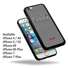 New Best Trending Audi Logo Sport Car Print On Hard Plastic iPhone Case #UnbrandedGeneric #iPhone4 #iPhone4s #iPhone5 #iPhone5s #iPhone5c #iPhoneSE #iPhone6 #iPhone6Plus #iPhone6s #iPhone6sPlus #iPhone7 #iPhone7Plus #BestQuality #Cheap #Rare #New #Best #Seller #BestSelling #Case #Cover #Accessories #CellPhone #PhoneCase #Protector #Hot #BestSeller #iPhoneCase #iPhoneCute #Latest #Woman #Girl #IpodCase #Casing #Boy #Men #Apple #AplleCase #PhoneCase #2017 #TrendingCase #Luxury #Fashion #Love…