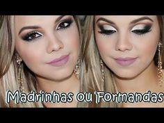 Tutorial Maquiagem Cut Crease Pink - YouTube