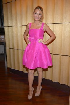 Hot Pink Dress and Royal Blue Shoes | My Style | Pinterest ...